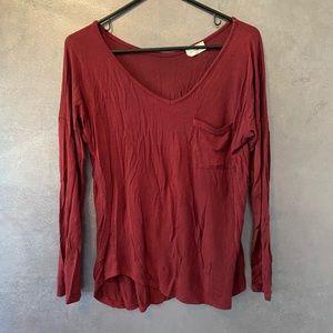 Free Kisses long sleeve blouse medium